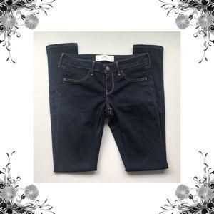 {Hollister} Dark Wash Skinny Jeans - Sz 5L